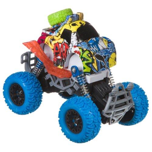 Купить Монстр-трак BONDIBON Парк техники (ВВ4497) синий, Машинки и техника