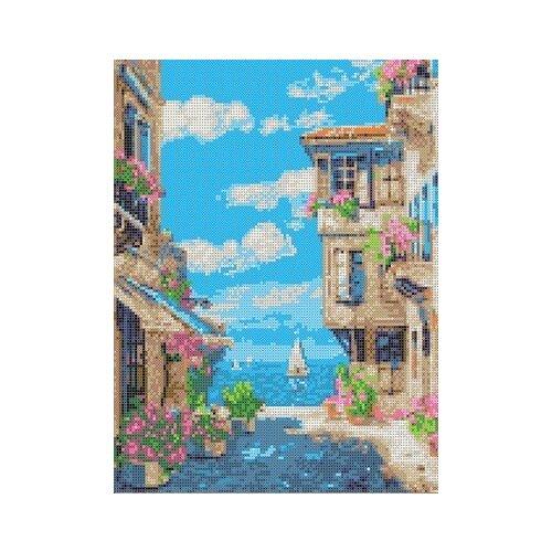 Купить У моря Рисунок на ткани 27х36, 6 Каролинка ТКБП 3044, Канва