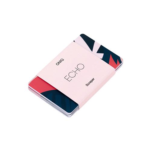 Купить Скребок ONIQ Echo Scraper, 10 шт. разноцветный