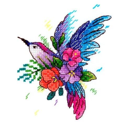 Купить Жар-птица Набор для вышивания на одежде Райская птичка 9 х 11 см (В-256), Наборы для вышивания