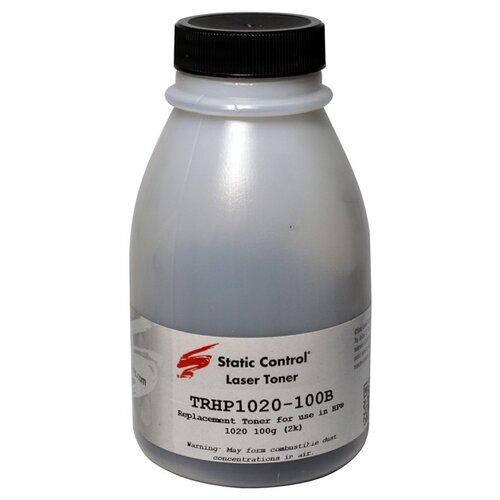 Фото - Тонер для принтера HP LaserJet 1010, 1012, 1015, 102, черный, 100 г (арт. TRHP1020-100B) чернила краска для заправки принтера hp envy 6432 набор оптима