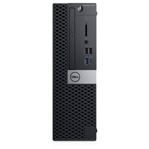 Настольный компьютер DELL Optiplex 7070 SFF (7070-6787) Intel Core i7-9700/16 ГБ/512 ГБ SSD/AMD Radeon RX 550/Windows 10 Pro черный компьютер