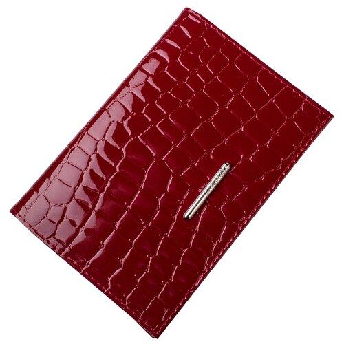 Обложка для паспорта Dimanche Nice, бордовый