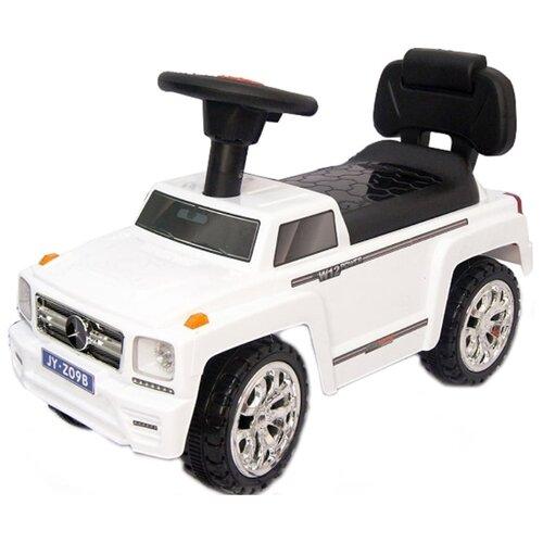 Купить Каталка-толокар RiverToys Mercedes JY-Z09B со звуковыми эффектами белый, Каталки и качалки