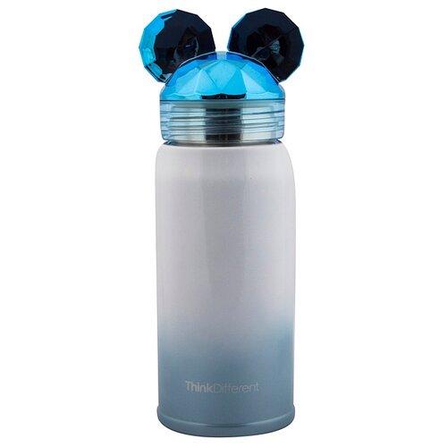 Термостакан Мышонок 19 см синий Эврика