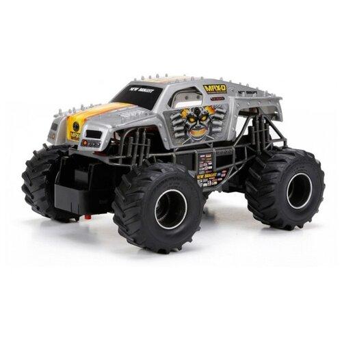 Купить Внедорожник New Bright Monster Jam 1:24 19 см черный/серый, Радиоуправляемые игрушки