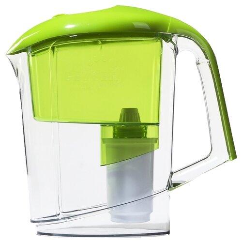 Фильтр кувшин Гейзер Вега 3 л зеленый фильтр кувшин гейзер дельфин 62035 сиреневый 3 0 л