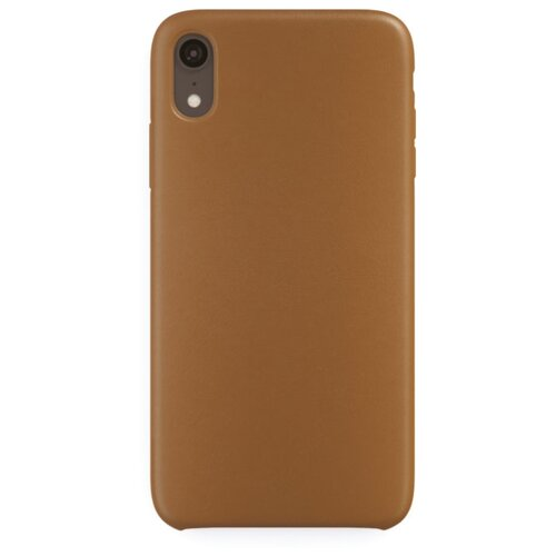 Чехол uBear Capital Leather для Apple iPhone Xr brownЧехлы<br>