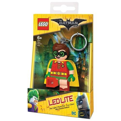 Брелок-фонарик LEGO LGL-KE105, красный/желтый/зеленыйБрелоки и ключницы<br>