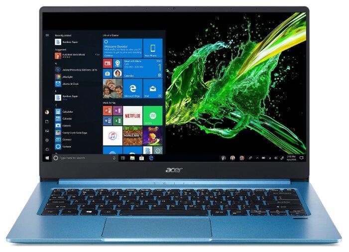 "Ноутбук Acer SWIFT 3 SF314-57-519E (Intel Core i5-1035G1 1000MHz/14""/1920x1080/8GB/256GB SSD/DVD нет/Intel UHD Graphics/Wi-Fi/Bluetooth/Windows 10 Home) — цены на Яндекс.Маркете"