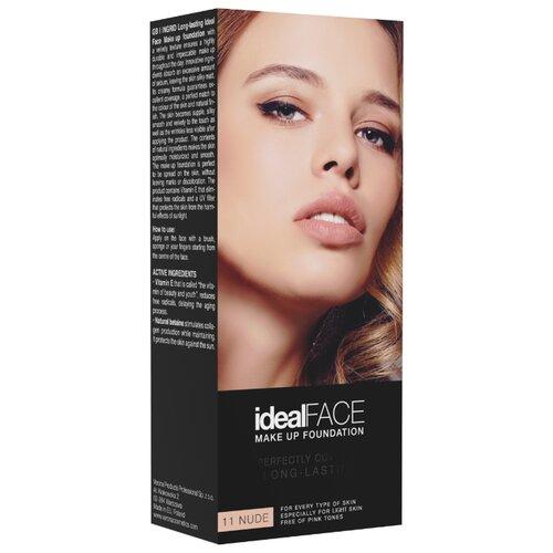 Ingrid Cosmetics Тональный крем Ideal Face, оттенок: 11 nude тональный крем ingrid mineral matt тон 304 песочный