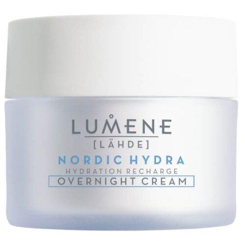 Lumene Lahde Nordic Hydra Hydration Recharge Overnight Cream Ночной увлажняющий восстанавливающий крем для лица, 50 мл