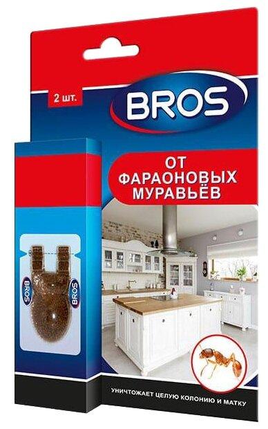 Приманка BROS от фараоновых муравьёв — купить по выгодной цене на Яндекс.Маркете