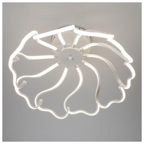 Фото - Потолочный светильник Eurosvet Begonia 90095/10 белый, 100 Вт светильник eurosvet 90095 10 белый begonia