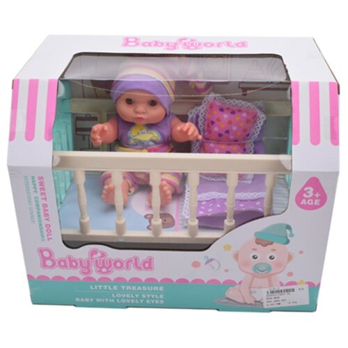 Купить Пупс Наша игрушка Мой малыш 23 см с аксессуарами 645258, Куклы и пупсы