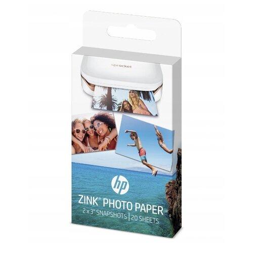 Фото - Бумага HP 54x76 мм Zink Sticky-Backed 300 г/м2 20 лист. белый 1 шт. бумага iq color а4 color 120 г м2 250 лист кораллово красный co44 1 шт