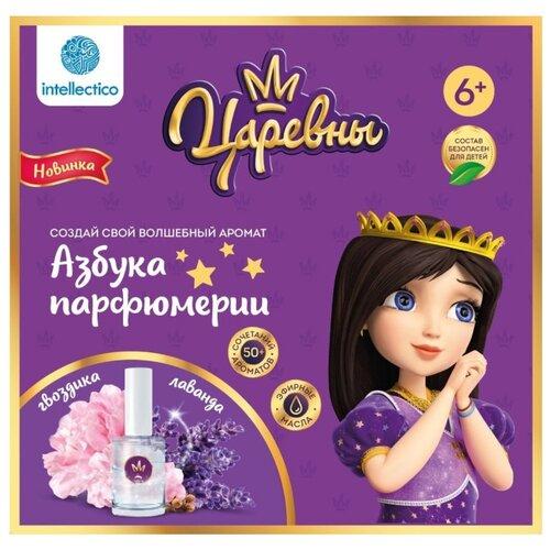 Купить Intellectico Набор азбука парфюмерии. Царевны. Соня (732), Изготовление косметики