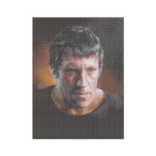 Купить В. Высоцкий Рисунок на ткани 27х35, 8 Каролинка ТКБЛ 3026, Канва