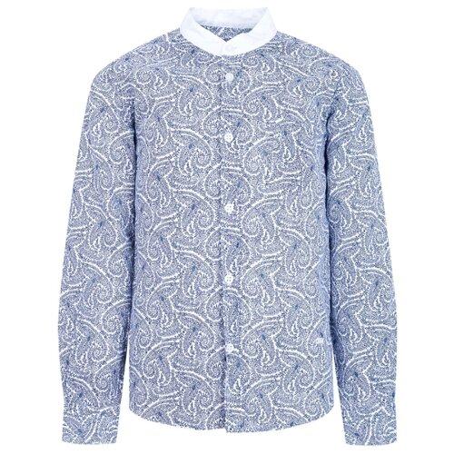 Рубашка Paolo Pecora размер 140, голубой, Рубашки  - купить со скидкой