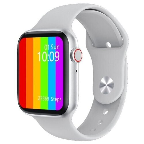 Часы Smart Watch IWO 14 Lite Plus (Watch 6) (серебристый) умные часы c gps iwo smart watch iwo 11 черный