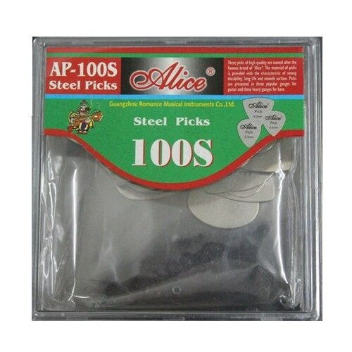 Фото - Набор медиаторов Alice AP-100/S, 100 штук alice lowe alice s wunderland