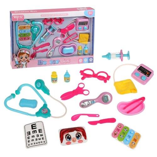 Купить Набор доктора Наша Игрушка 14 предметов, свет, звук, коробка (TP511), Наша игрушка, Играем в доктора