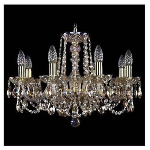 Люстра Bohemia Ivele Crystal 1402 1402/8/195/G/M701, E14, 320 Вт люстра bohemia ivele crystal 1402 1402 8 195 g m711 e14 320 вт