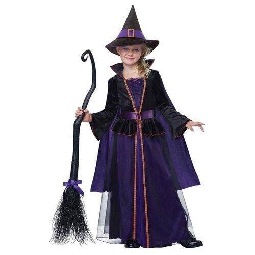 Костюм California Costumes Ведьма 00499, фиолетовый/черный, размер XL (12-14 лет), Карнавальные костюмы  - купить со скидкой