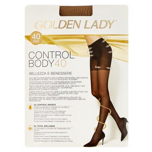 цена Колготки Golden Lady Control Body 40 den, размер 3-M, melon (бежевый) онлайн в 2017 году