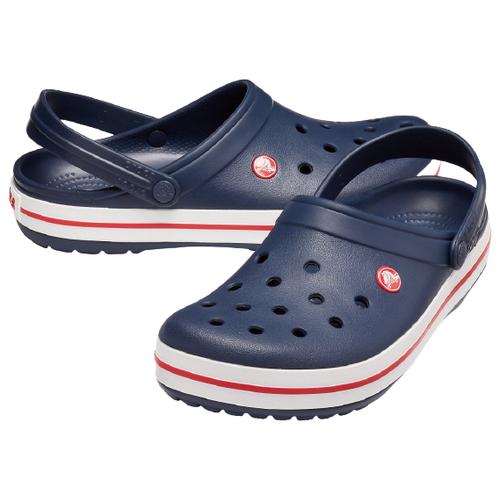 сабо женские crocs classic mammoth luxe цвет черный 204211 001 размер m7 w9 39 40 Сабо Crocs Crocband, размер 39-40(M7/W9), navy