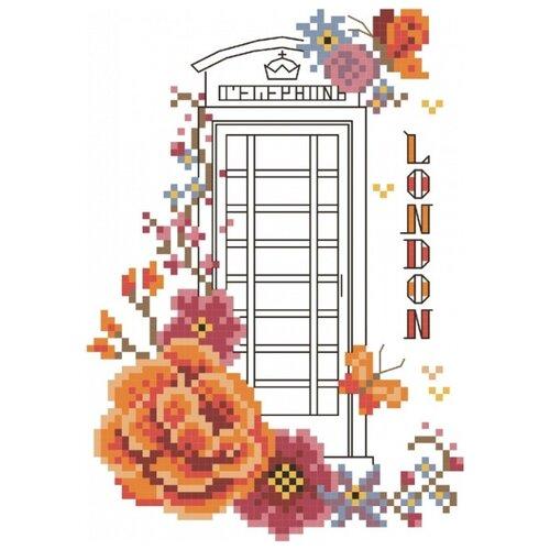 Купить Лондон Набор для вышивания крестом 20х22 (10х14) Матренин Посад 6062/СК, Матрёнин Посад, Наборы для вышивания