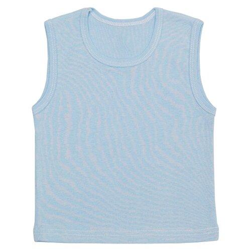 Купить Майка Чудесные одежки размер 74, голубой, Белье