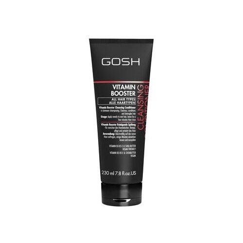 GOSH кондиционер очищающий Vitamin Booster Cleansing с витаминным комплексом, 230 мл очищающий кондиционер для волос vitamin booster cleansing conditioner кондиционер 230мл