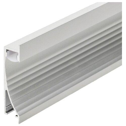 Комплект (профиль, рассеиватель) Arlight ALU-WALL-US-2000ANOD+FROST серый профиль arlight alu power w35s 2000 anod frost серый