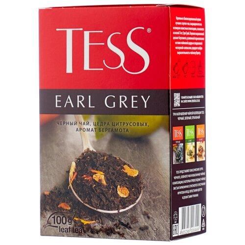 Чай черный Tess Earl grey , 100 г чай черный tess grapefruit