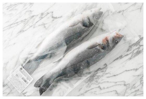 ВкусВилл Замороженный сибас неразделанный 400 г