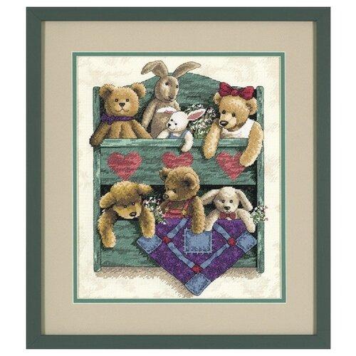 Купить Набор для вышивания: Полка с игрушками Dimensions DMS-13684, Наборы для вышивания