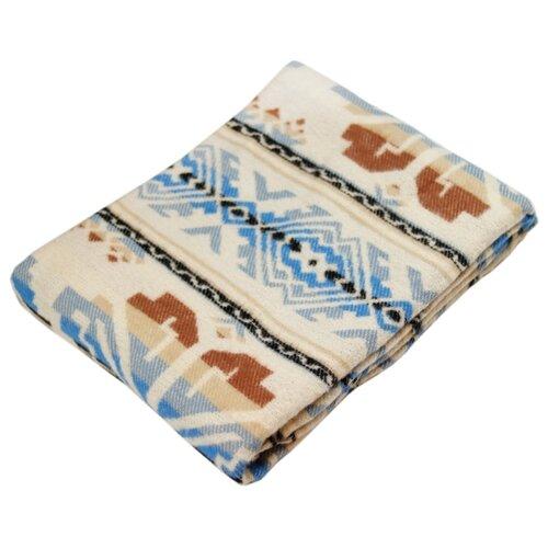 цена на Плед ARLONI Этника 140 х 200 см, голубой