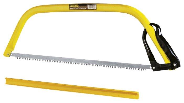 Купить Лучковая пила STANLEY Raker Tooth 1-15-379 530 мм по низкой цене с доставкой из Яндекс.Маркета (бывший Беру)