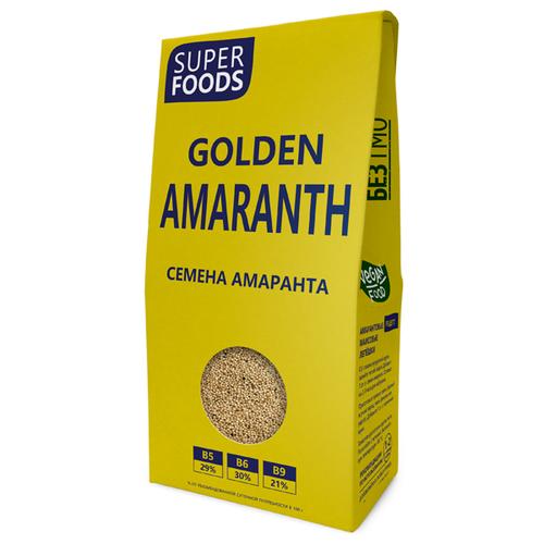 Компас Здоровья Семена амаранта Golden Amaranth Seeds картонная коробка 150 г.