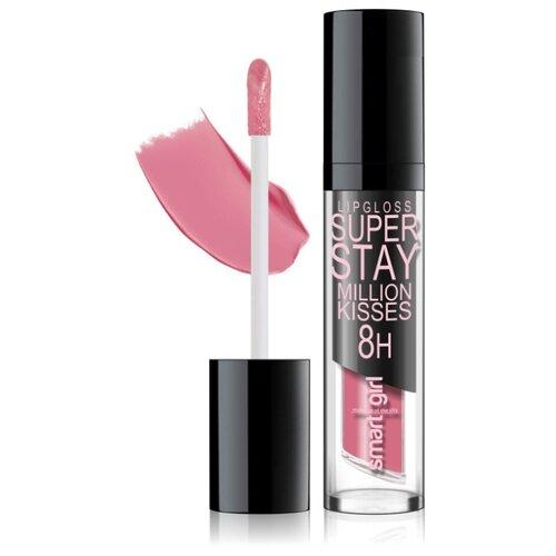 Купить BelorDesign Суперстойкий блеск для губ Smart Girl Super Stay Million Kisses, 213 розовый мед