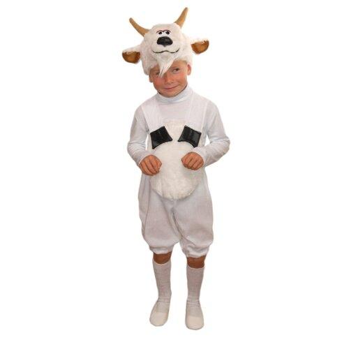 Купить Костюм Elite CLASSIC Козлик, белый, размер 28 (116), Карнавальные костюмы