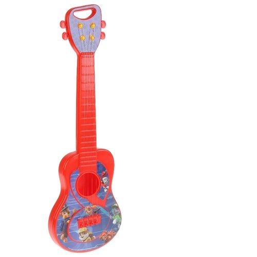 Купить Играем вместе гитара Щенячий патруль B1331458-R2 красный/синий, Детские музыкальные инструменты