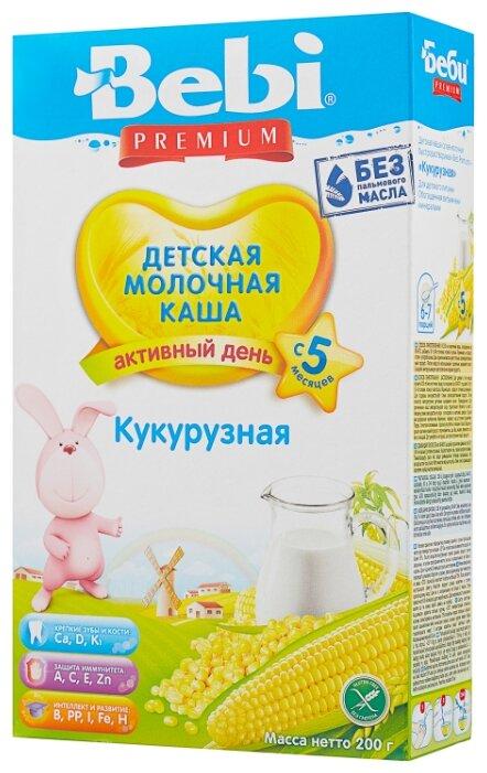 Каша Bebi молочная кукурузная (с 5 месяцев) 200 г