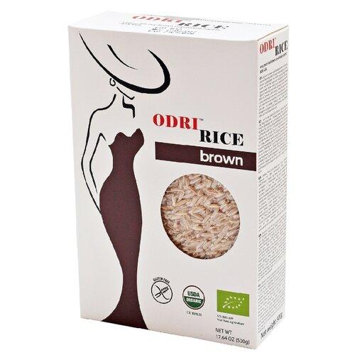 Рис ODRI бурый нешлифованный 500 г куртка odri mio