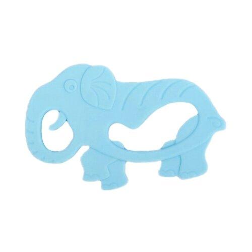 Купить Прорезыватель Крошка Я Слон 2272546 голубой, Погремушки и прорезыватели