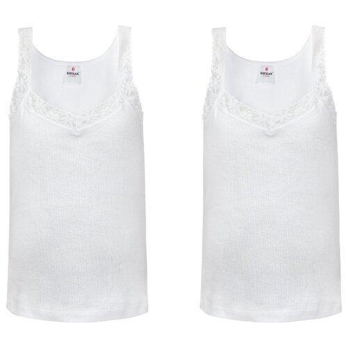 Купить Майка BAYKAR размер 122/128, белый, Белье и купальники