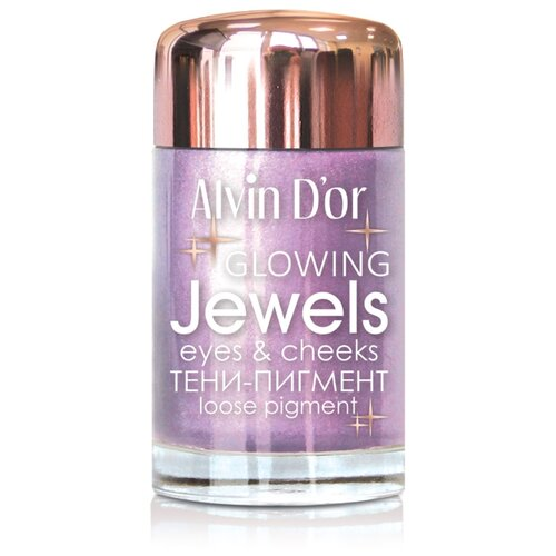 Alvin D'or Тени-пигмент для век Jewels 04 весенняя фуксия printio весенняя луша