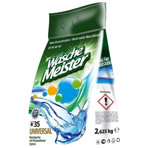 Стиральный порошок WascheMeister Universal универсальный пластиковый пакет 2.6 кг