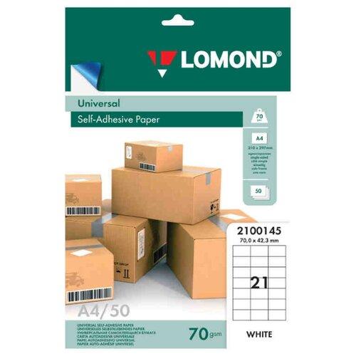 Фото - Бумага Lomond A4 2100145 70 г/м² 50 лист. белый 1 шт. бумага lomond a4 2100165 70 г м² 50 лист белый 1 шт